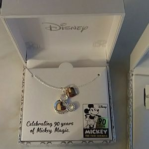 "🎉Disney ""90"" Years of Mickey jewelry Swarovski💎"